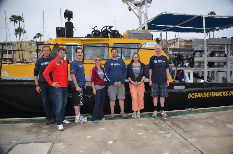 Ocean Defender Crew before departure