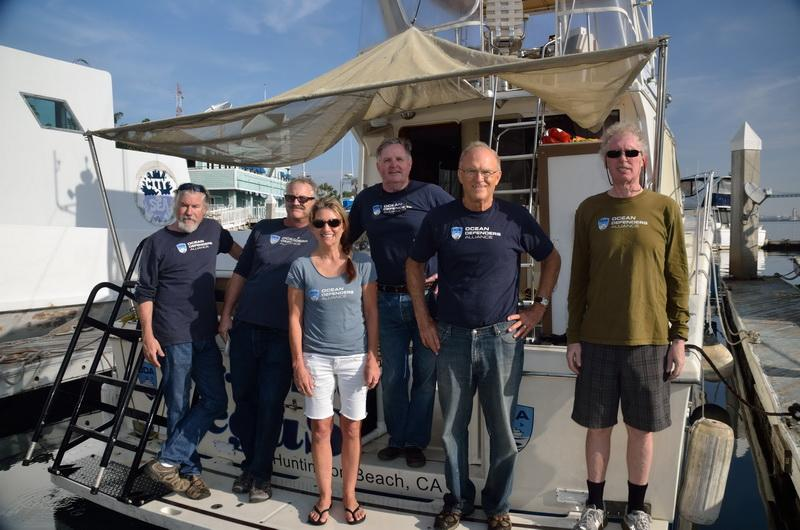 Ocean Defenders Alliance Dive & Boat Crew volunteer team