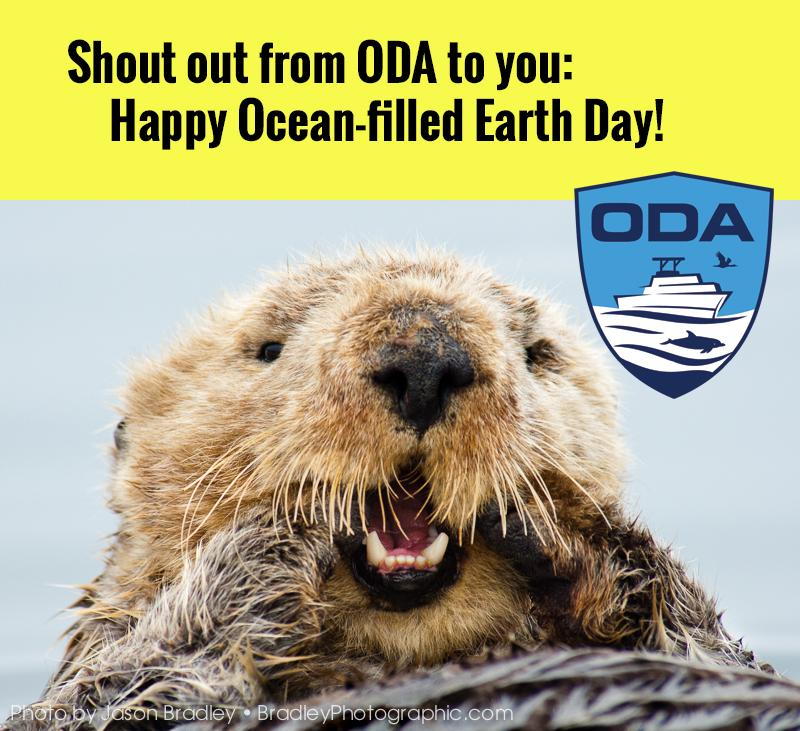 Happy ocean-filled earth day