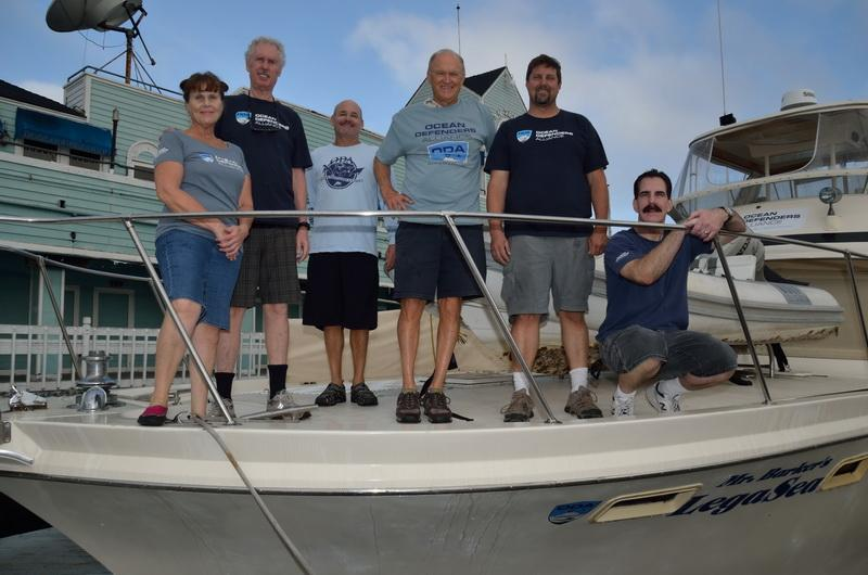 Ocean Defenders volunteer Boat & Dive Crew