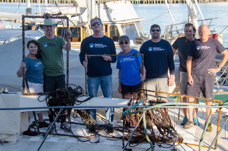 Crew with days catch
