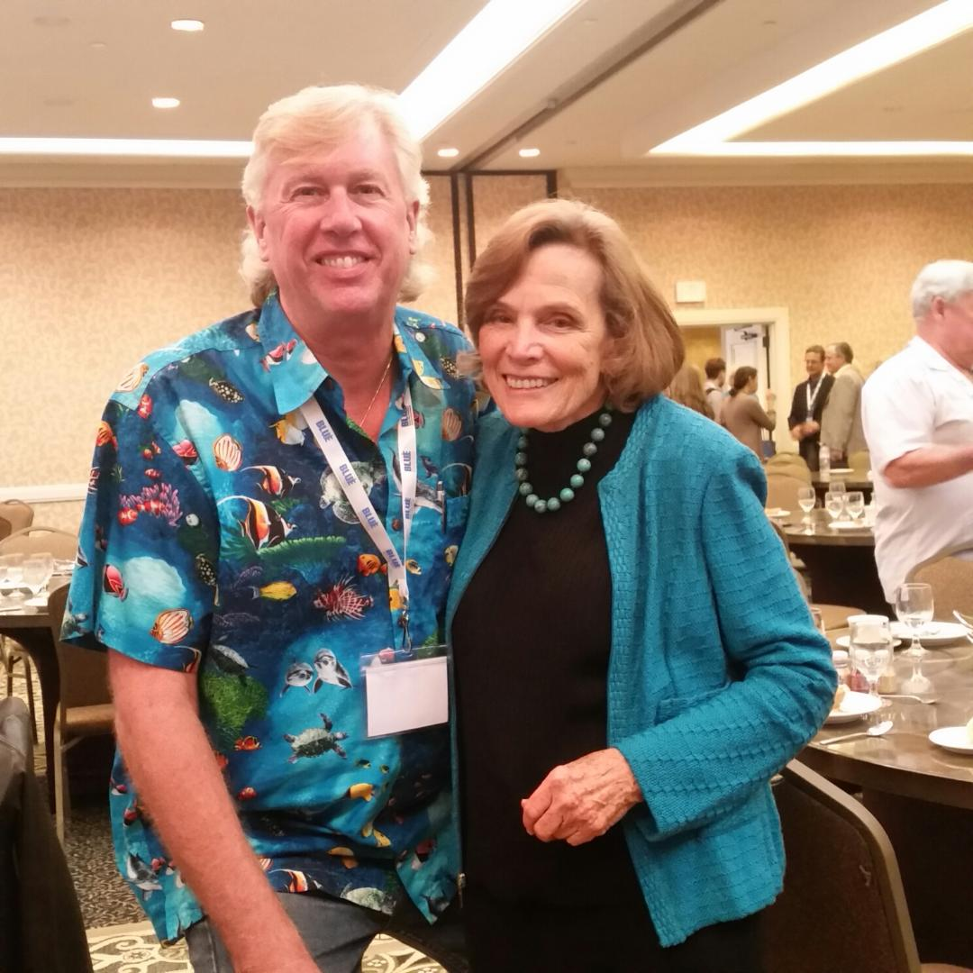 2014 Sylvia Earle and Kurt Lieber